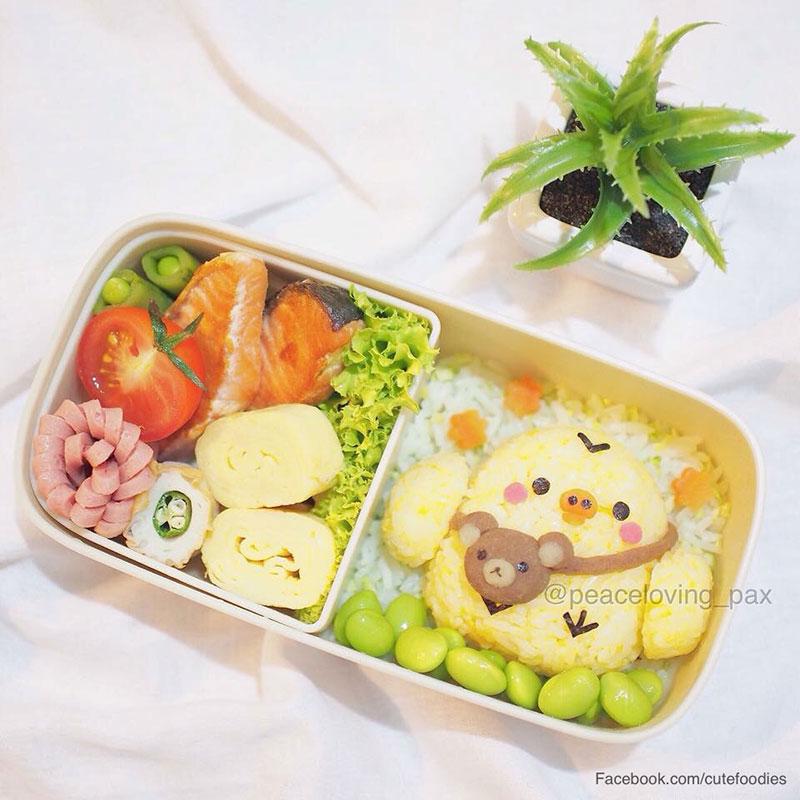 รูป ข้าวกล่องน่ารัก lovely boxset